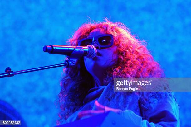 R performs onstage at night two of the STAPLES Center Concert presented by CocaCola during the 2017 BET Experience at LA Live on June 23 2017 in Los...