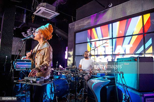 SISKA performs onstage at Shooshh on Day 3 of The Great Escape 2016 on May 21 2016 in Brighton England