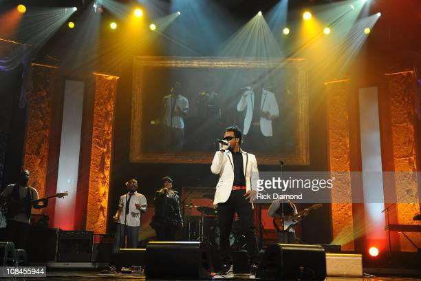 Performs onstage at the 40th Annual GMA Dove Awards held at the Grand Ole Opry House on April 23, 2009 in Nashville, Tennessee.