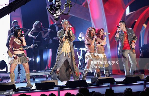 RBD performs onstage at the 7th Annual Latin Grammy Awards at Madison Square Garden November 2 2006 in New York City