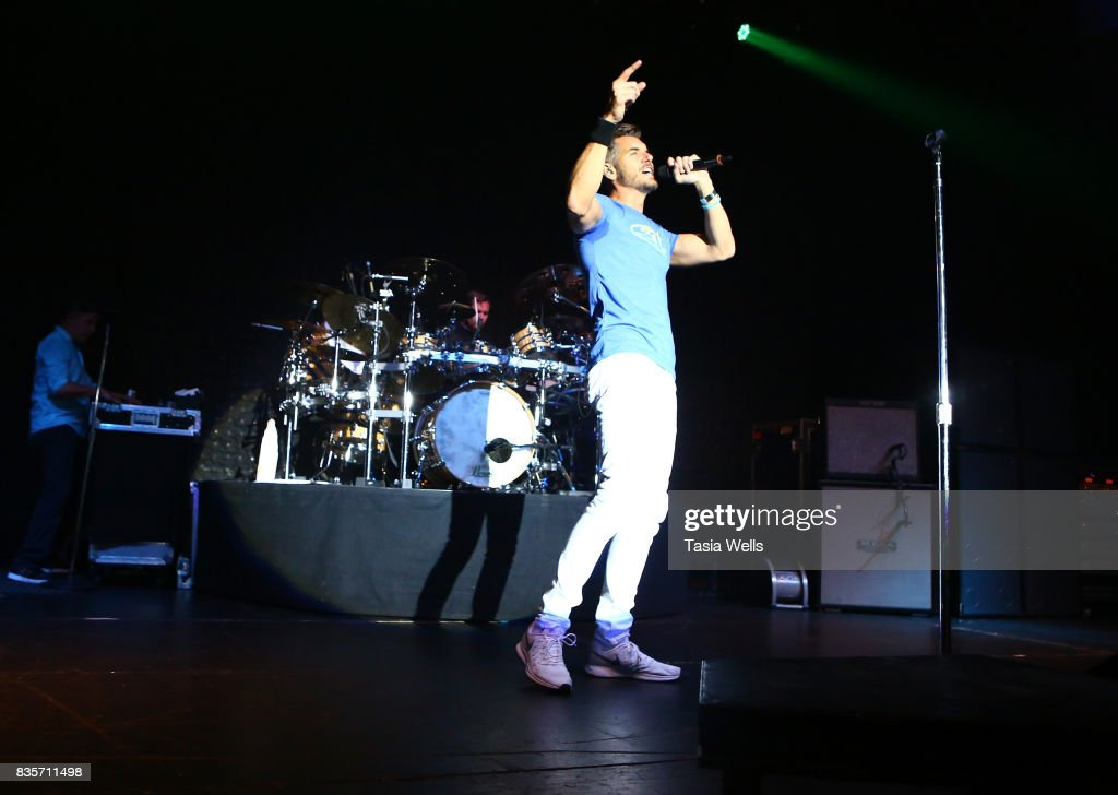 311 performs onstage at the Hollywood Palladium on August 19, 2017 in Los Angeles, California.
