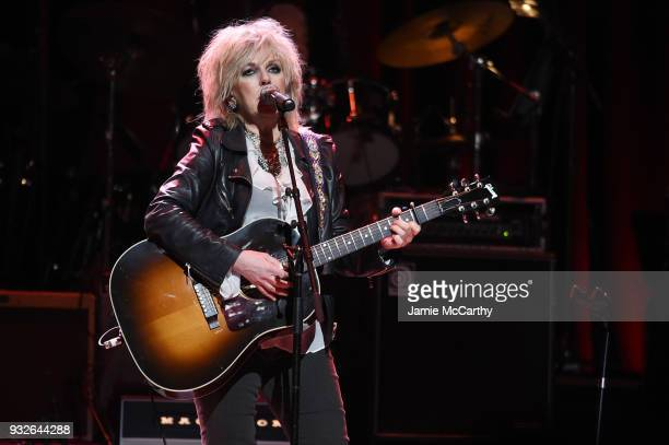 performs onstage at the Second Annual LOVE ROCKS NYC A Benefit Concert for God's Love We Deliver at Beacon Theatre on March 15 2018 in New York City