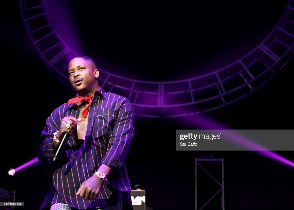 2018 BET Experience STAPLES Center Concert Sponsored by SPRITE - Night 3 : News Photo