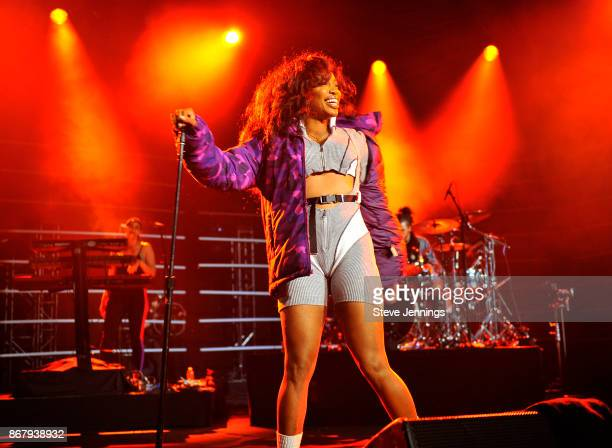 SZA performs onstage at Vevo Halloween 2017 at Craneway Pavilion on October 28 2017 in Richmond California