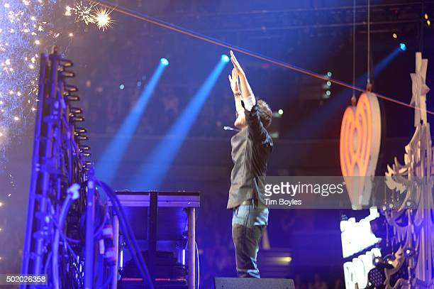Performs onstage during 93.3 FLZ's Jingle Ball 2015 Presented by Capital One at Amalie Arena on December 19, 2015 in Tampa Bay, Fla.