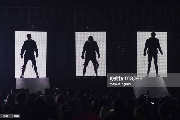 XXX performs onstage during Power 961's Jingle Ball 2017 Presented by Capital One at Philips Arena on December 15 2017 in Atlanta Georgia