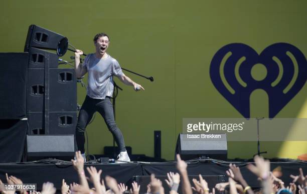 Performs onstage during the 2018 iHeartRadio Music Festival Daytime Stage at the Las Vegas Festival Grounds on September 22, 2018 in Las Vegas,...
