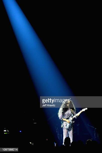 R performs onstage during the 61st Annual GRAMMY Awards at Staples Center on February 10 2019 in Los Angeles California