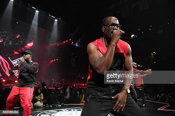 Performs onstage during the Puff Daddy and The Family Bad Boy Reunion Tour presented by Ciroc Vodka and Live Nation at Barclays Center on May 21,...