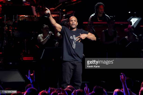 Performs onstage during the The Rainforest Fund 30th Anniversary Benefit Concert Presents 'We'll Be Together Again' at Beacon Theatre on December 09,...