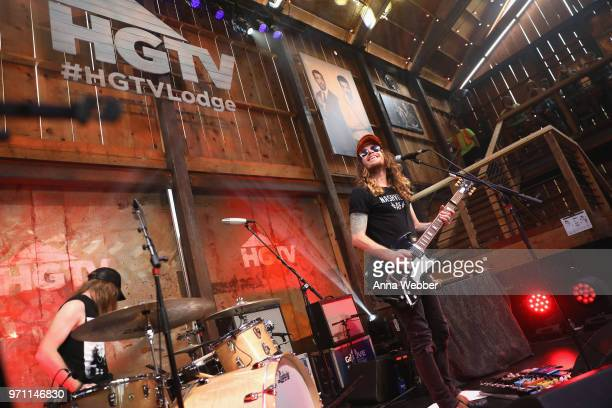 XXX performs onstage in the HGTV Lodge at CMA Music Fest on June 10 2018 in Nashville Tennessee
