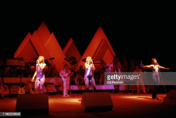 Performs with at Concord Pavilion on September 19, 1979 in Concord, California.