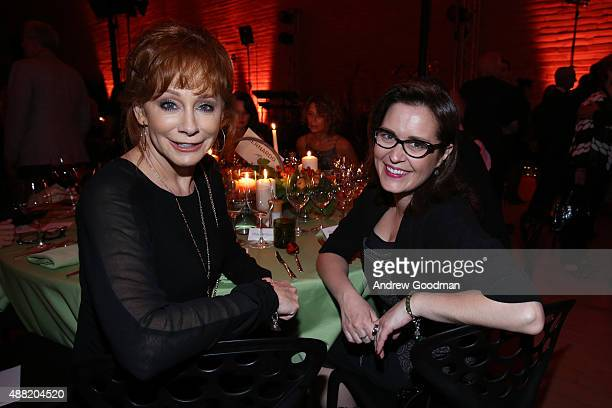 Perfromer Reba McEntire attends the closing night reception at Antinori nel Chianti Classico winery during 2015 Celebrity Fight Night Italy on...