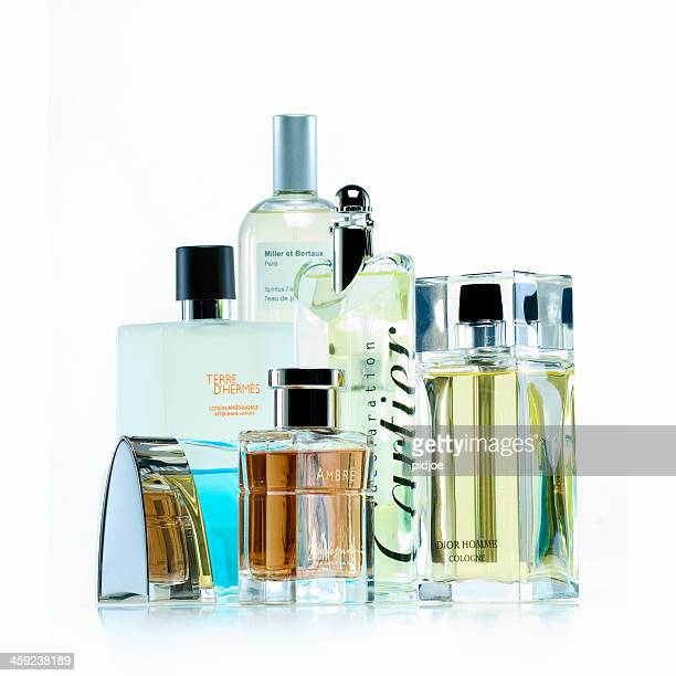 perfume and aftershave lotion