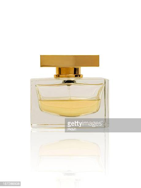 perfume bottle (with clipping path) - cologne stock pictures, royalty-free photos & images