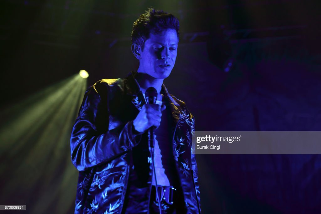 Perfume Genius performs at The Roundhouse on November 5, 2017 in London, England.