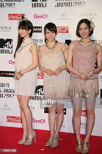 37 Perfume Japanese Band Pictures, Photos & Images - Getty