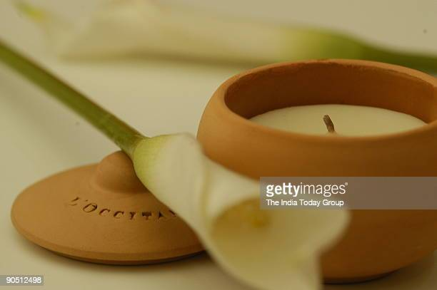 Perfumed Candles, Branded luxury products sold at Ravissant designer store in New Delhi, India