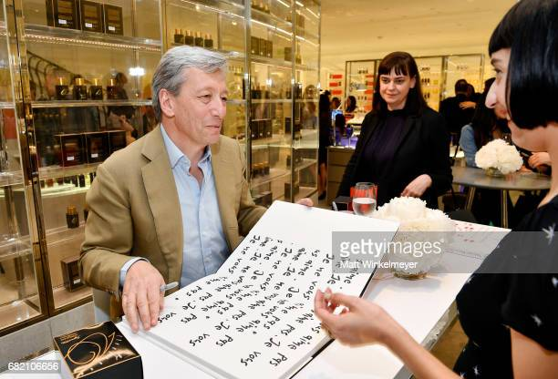Perfumer Frederic Malle attends Barneys New York Celebration of the Farrah Fawcett Foundation at Barneys New York Beverly Hills on May 11 2017 in...