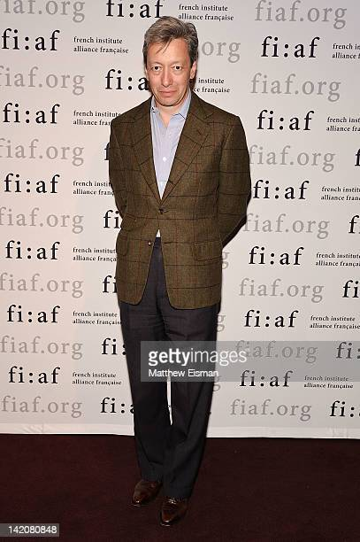 Perfumer Frederic Malle attends the FIFA 2012 Fashion Talks Series at Florence Gould Hall on March 29 2012 in New York City
