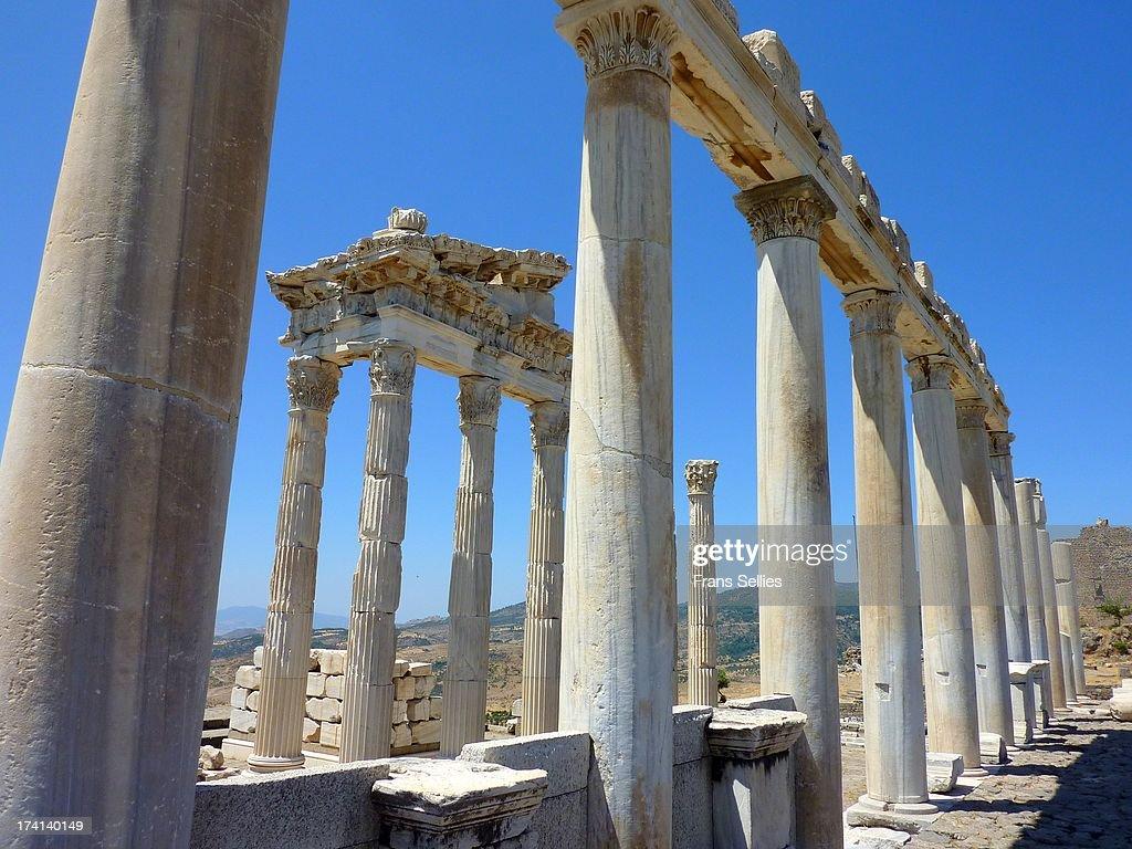 Ancient Pergamon ( Bergama, Turkey) : Nieuwsfoto's