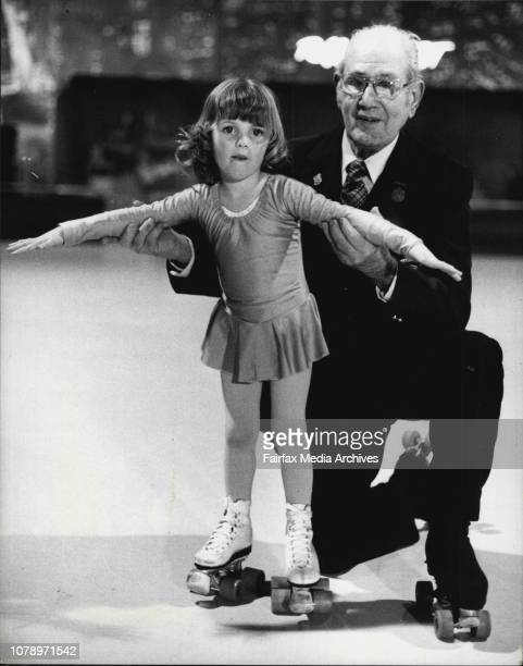 Perhaps the Oldest Roller skating in the world 88 year old Parker Taylor Gives a few lessons to possibly one of the youngest when 3 years old Emily...