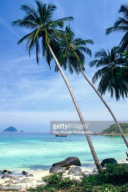perhentian island seascape kecil, malaysia - malaysia stock-fotos und bilder