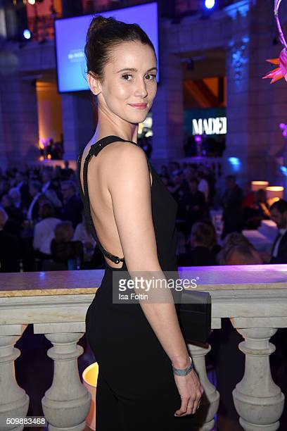 Peri Baumeister attends the ARD Hosts Blue Hour Reception on February 12 2016 in Berlin Germany