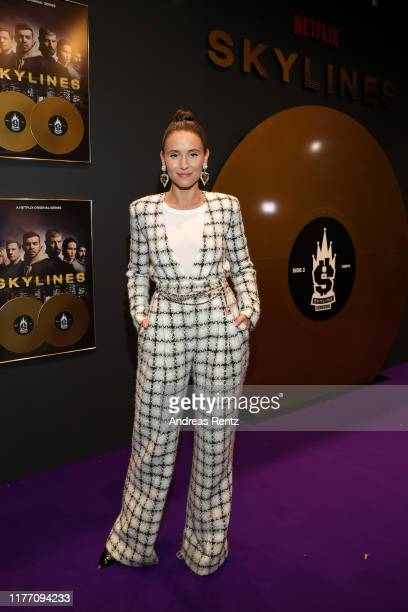 Peri Baumeister attends the premiere of the new Netflix series Skylines on September 25 2019 in Frankfurt am Main Germany