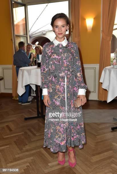 Peri Baumeister during the Bavaria Film reception during the Munich Film Festival 2018 at Kuenstlerhaus am Lenbachplatz on July 3 2017 in Munich...
