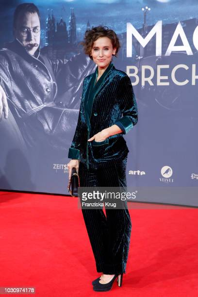 Peri Baumeister during the 'Mackie Messer Brechts Dreigroschenfilm' premiere at Zoo Palast on September 10 2018 in Berlin Germany