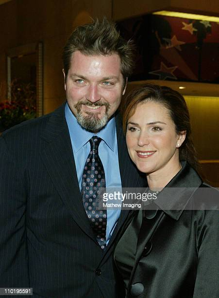 Peri Gilpin and husband Christian Vincent during 8th Annual Art Directors Guild AwardsArrivals at The Beverly Hilton Hotel in Beverly Hills...