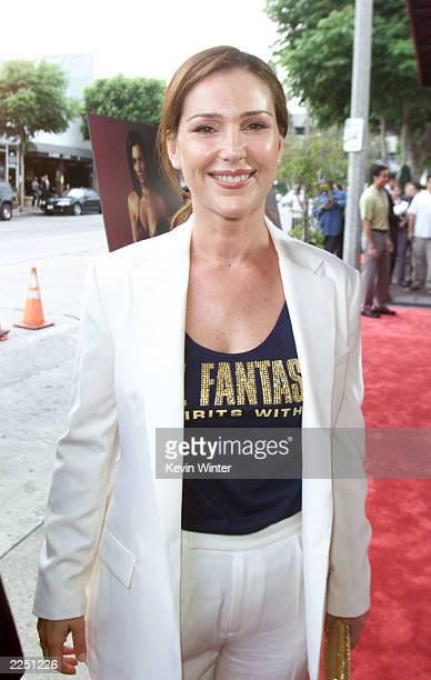 Peri Gilpin at the premiere of 'Final Fantasy: The Spirits Within' at the Bruin Theater in Los Angeles, Ca. 7/2/01. Photo by Kevin Winter/Getty...