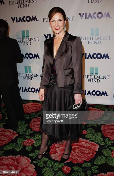 Peri Gilpin during 2003 Fulfillment Fund's Annual Stars 2003 Benefit Gala at Beverly Hilton Hotel in Beverly Hills California United States