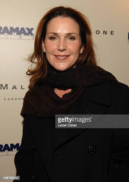 Peri Gilpin during Miramax Films and British Fragrance House Jo Malone Join to Celebrate 2007 OscarNominated Films The Queen and Venus at Sunset...