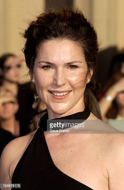 Peri Gilpin during The 8th Annual Screen Actors Guild Awards Arrivals at Shrine Exposition Center in Los Angeles California United States