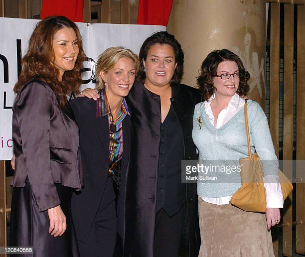 Peri Gilpin Kelli Carpenter O'Donnell Rosie O'Donnell and Megan Mullally