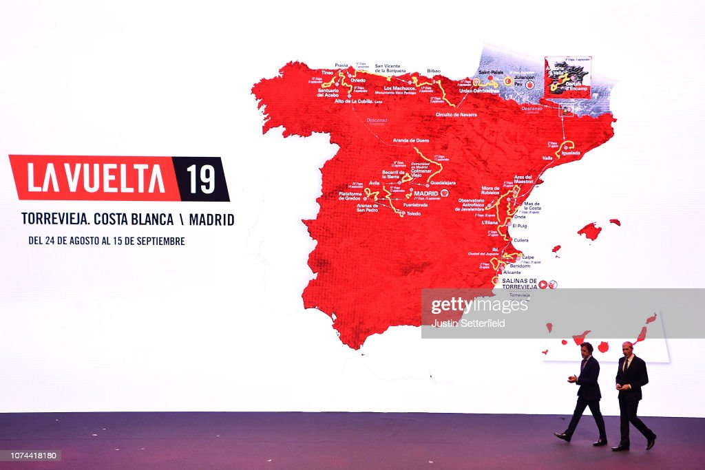 74th Tour of Spain 2019 - Route Presentation : ニュース写真