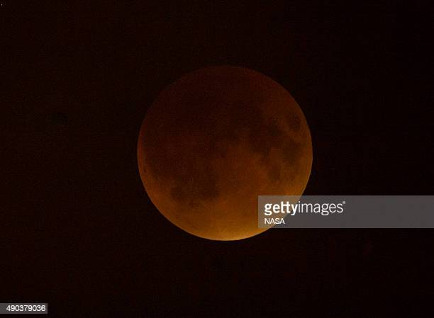 A perigee full moon or supermoon is seen during a total lunar eclipse on September 27 in Washington DC The combination of a supermoon and total lunar...