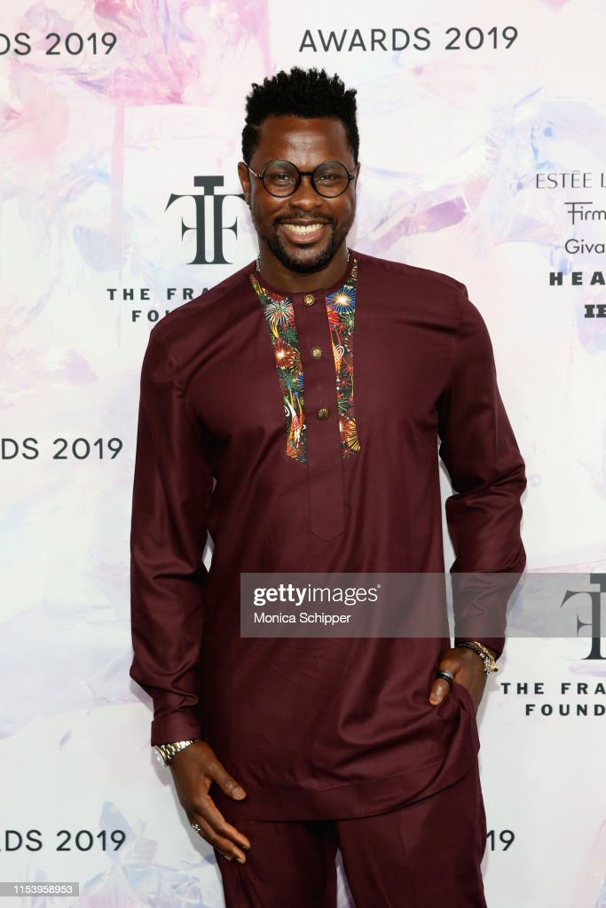 Perikles Mandinga attends the 2019 Fragrance Foundation