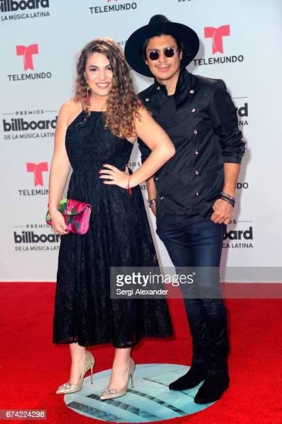 Periko Jessi Leon attend the Billboard Latin Music Awards at Watsco Center on April 27 2017 in Coral Gables Florida
