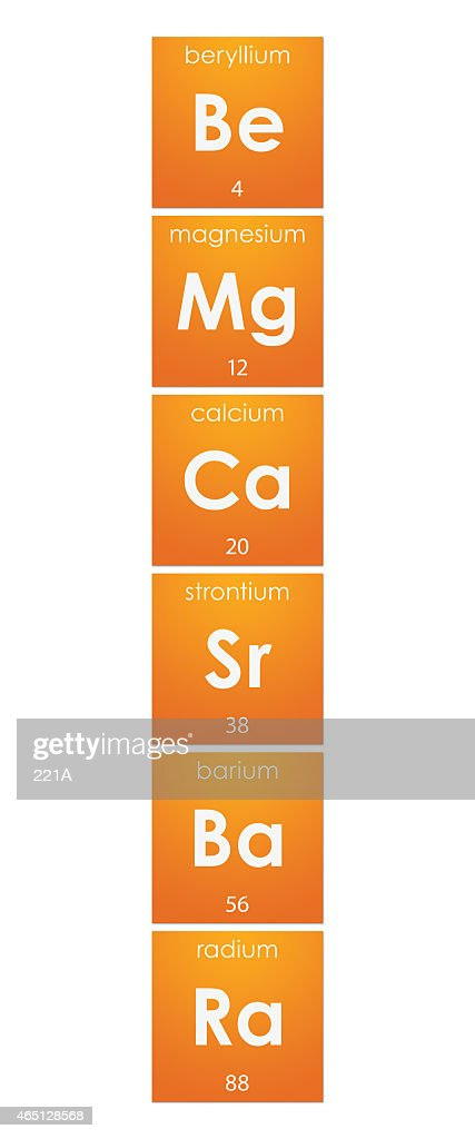 Periodic table alkaline earth metals group 2 stock photo getty images periodic table alkaline earth metals group 2 chemical elements stock photo urtaz Choice Image