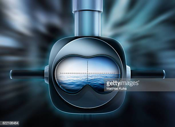periscope - submarine stock pictures, royalty-free photos & images