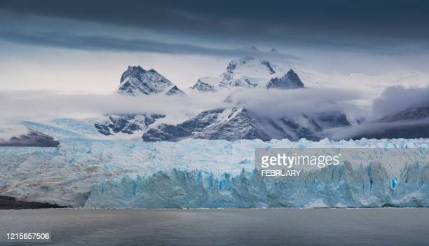 perito moreno big glacier. - ice floe stock pictures, royalty-free photos & images