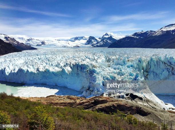 perito moreno glacier, el calafate, santa cruz, patagonia, argentina - high dynamic range imaging stock photos and pictures
