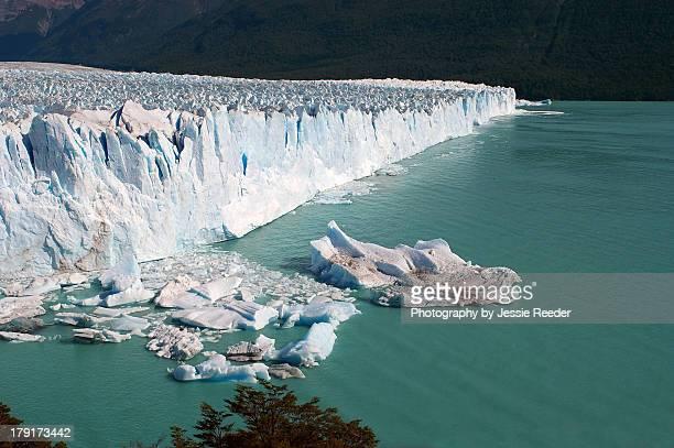 Perito Moreno glacier face, Argentina