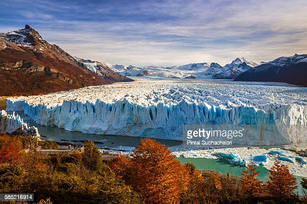 Perito Moreno Glacier in Autumn
