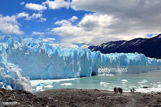 Perito Moreno Glacier in El Calafate Argentina
