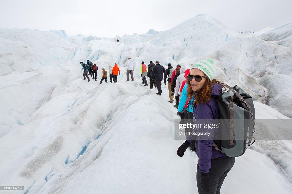 Perito Moreno Glacier, Patagonia. : Foto stock