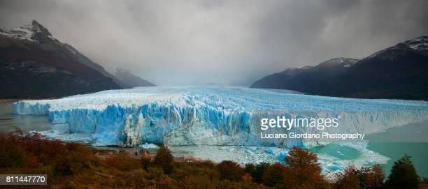 perito moreno glacier - parque nacional glacier - fotografias e filmes do acervo